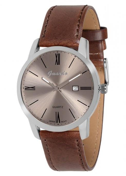 Чоловічі наручні годинники Guardo 09905 SGrBr