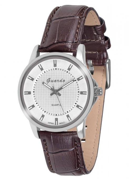Чоловічі наручні годинники Guardo 10433 SWBr