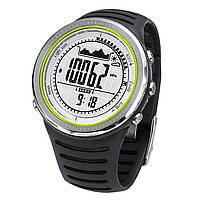 Часы спортивные FR802A для туризма (компас, альтиметр, барометр, шагомер..). Водозащита 5АТМ