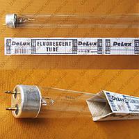 Лампа бактерицидная 15 Вт (Deluxe). ( Озоновая )