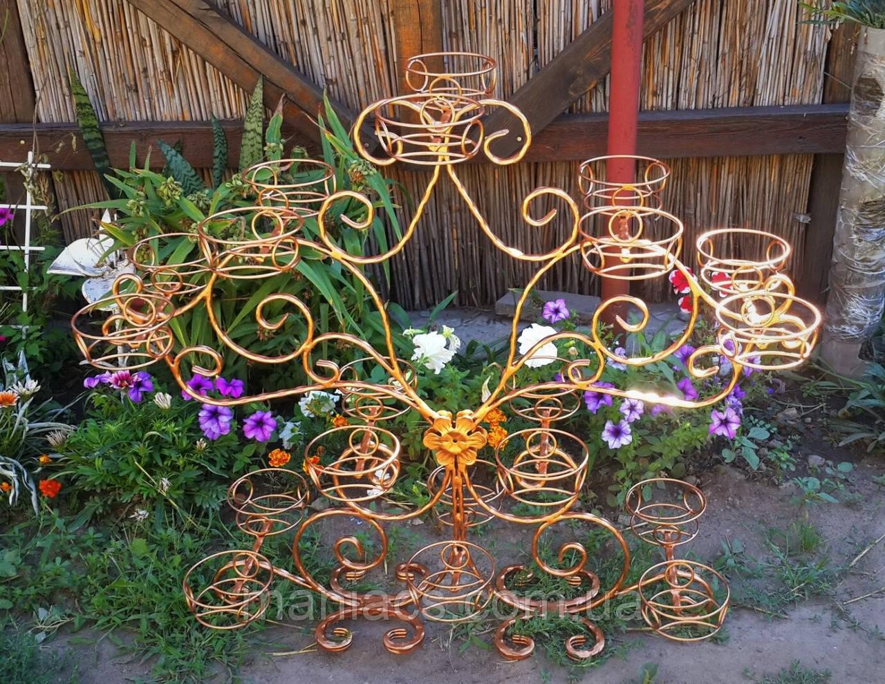 Орхидея-2, подставка для цветов на 20 чаш