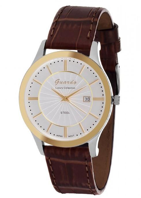 Мужские наручные часы Guardo S00990 GsWBr