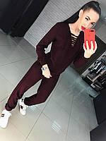 Женский вязаный костюм АП-469
