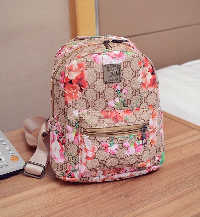 a285f323d552 Рюкзак женский маленький с цветами, цена 289 грн., купить в Днепре ...