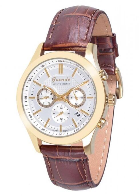 Мужские наручные часы Guardo S01076 GWBr