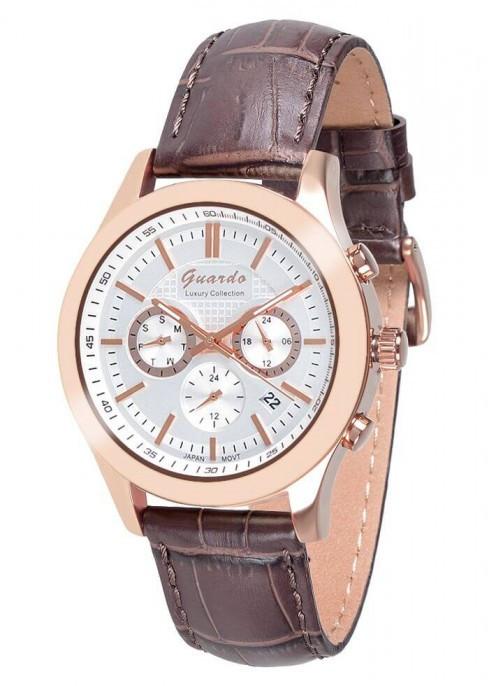 Мужские наручные часы Guardo S01076 RgWBr