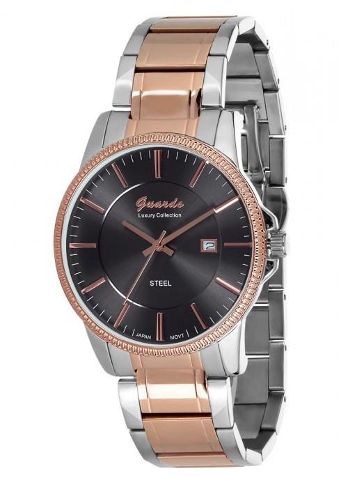Чоловічі наручні годинники Guardo S01272(m) RgsB