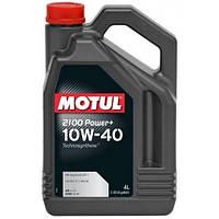 Motul 2100 Power+ 10W-40 - моторное масло полусинтетика - 4 литра