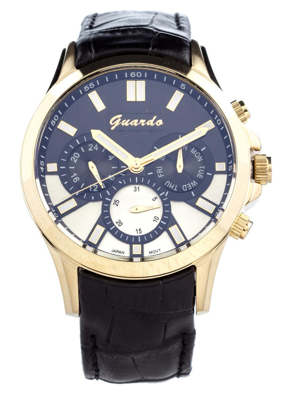 Чоловічі наручні годинники Guardo S08071 GBB