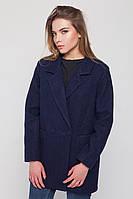 """Пальто-пиджак """"Бланка"""" синее S"""