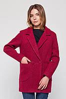 """Пальто-пиджак """"Бланка"""" малиновое XL"""