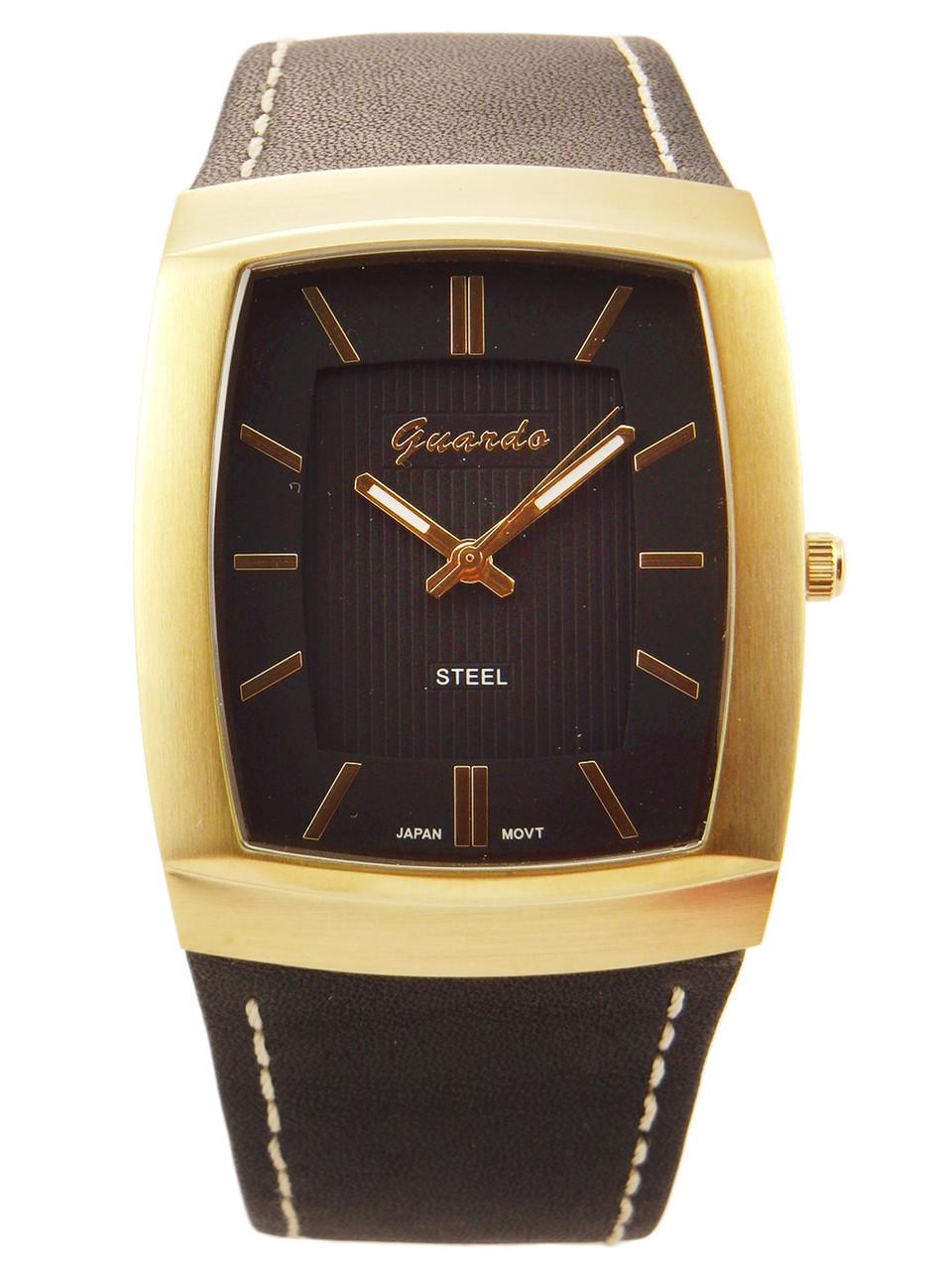 Чоловічі наручні годинники Guardo S09309 GBB