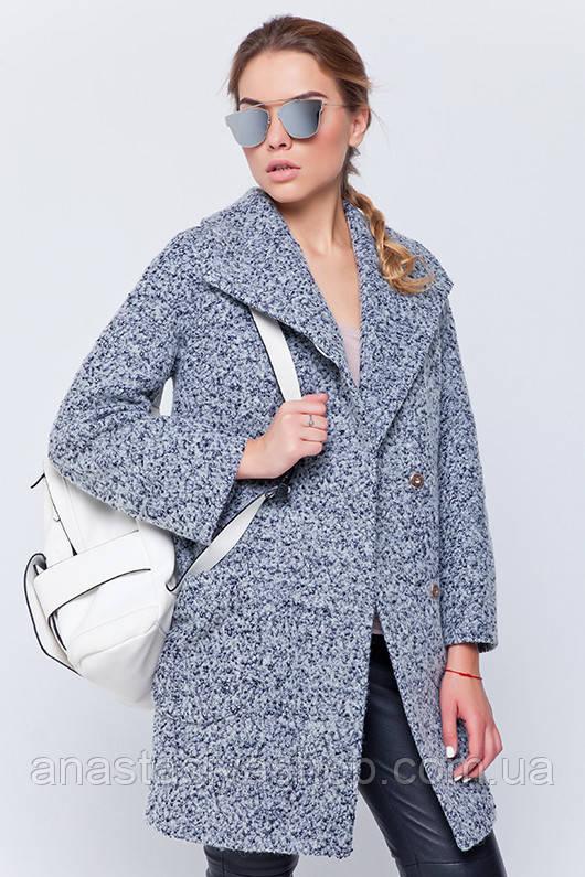 Пальто-пиджак «Эйми» серое