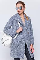 Пальто-пиджак «Эйми» серое, фото 1