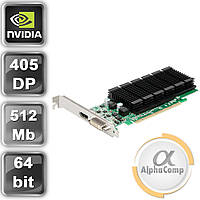 Видеокарта PCI-E NVIDIA Fujitsu GeForce 405 DP (512MB/DDR3/64bit/DVI/DP) б/у