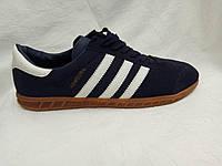Женские кроссовки Adidas Hamburg синие