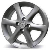 Литые диски Replica Toyota (TY618) R15 W6 PCD4x100 ET35 DIA54.1 (silver)