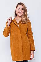 Пальто с капюшоном «Сюзи» горчица