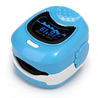 Пульсоксиметр CMS50QB двухцветный с LED дисплеем, для детей CONTEC