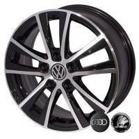 Литые диски Replica Volkswagen (JT1254) R16 W7 PCD5x112 ET40 DIA57.1 (BM)