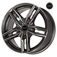Литые диски Replica Audi (BK5182) R16 W7 PCD5x112 ET45 DIA57.1 (HB)