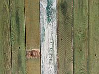 Фон для фото деревянный зеленый с острыми углами (забор)