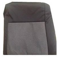 Чехлы универсальные  1+1 Тюнинг В тканевые черно-серые