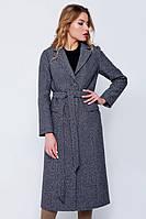 Длинное пальто «Валери» черное