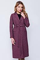 Длинное пальто «Валери» красное