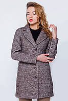 """Пальто-пиджак """"Дебби"""" коричневое"""