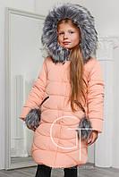 Детская зимняя куртка на молнии  X-Woyz