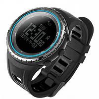 Спортивные часы FR801B - водозащита 5АТМ, шагомер, калории, термометр, барометр, альтиметр, компас