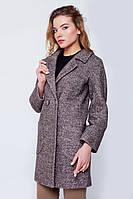 """Пальто """"Марго"""" коричневое"""