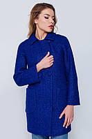 """Пальто """"Марго"""" синее"""