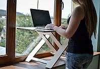 Стол для работы стоя AIR WHITE/BLACK