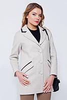 """Пальто-пиджак """"Ненси"""" бежевое"""
