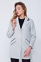 """Пальто-пиджак """"Ненси"""" серое"""