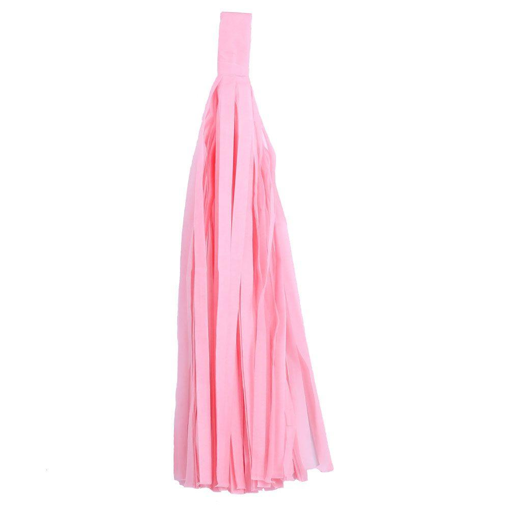 """Помпон """"Кисточка"""" из бумаги 20 см. Нежно-розовый"""