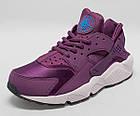 "Женские кроссовки Nike Air Huarache ""Mulberry"" (в стиле Найк Хуарачи) фиолетовые, фото 4"