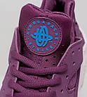 "Женские кроссовки Nike Air Huarache ""Mulberry"" (в стиле Найк Хуарачи) фиолетовые, фото 5"