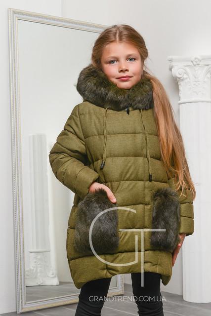 Зимние детские куртки от X-Woyz (девочка + мальчик)