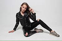 Лосины со змейкой на коленях для девочки и подростка