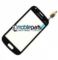 Оригинальный Сенсор (Тачскрин) для Samsung S7582 Galaxy Trend Plus Duos (Черный)