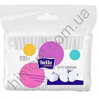 Ватные палочки гигиенические Bella Cotton, 100 шт