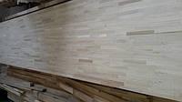 Мебельный щит дубовый 18 мм категория АВ (18*650*3000 мм)