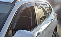 (E84) - Дефлекторы окон (ветровики), комлект. (Cobra Tuning) - X1 - BMW - 2009