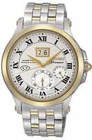 Мужские часы Seiko SNP042P1 Premier Kinetic Perpetual