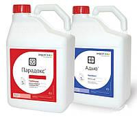 Парадокс + ПАВ Адью (2х5л+2х5) - послевсходовый гербицид на сою, горох, рапс и подсолнечник