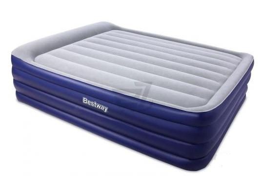 Кровать надувная Bestway 67528 + насос