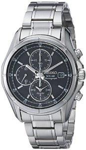 Мужские часы Seiko SSC001 Solar Chronograph